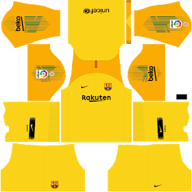 Kits Uniformes Para Fts 15 Y Dream League Soccer Kits Uniformes Barcelona Liga Santander 2018 2019 Camiseta Del Barcelona Logo De Barcelona Liga Santander