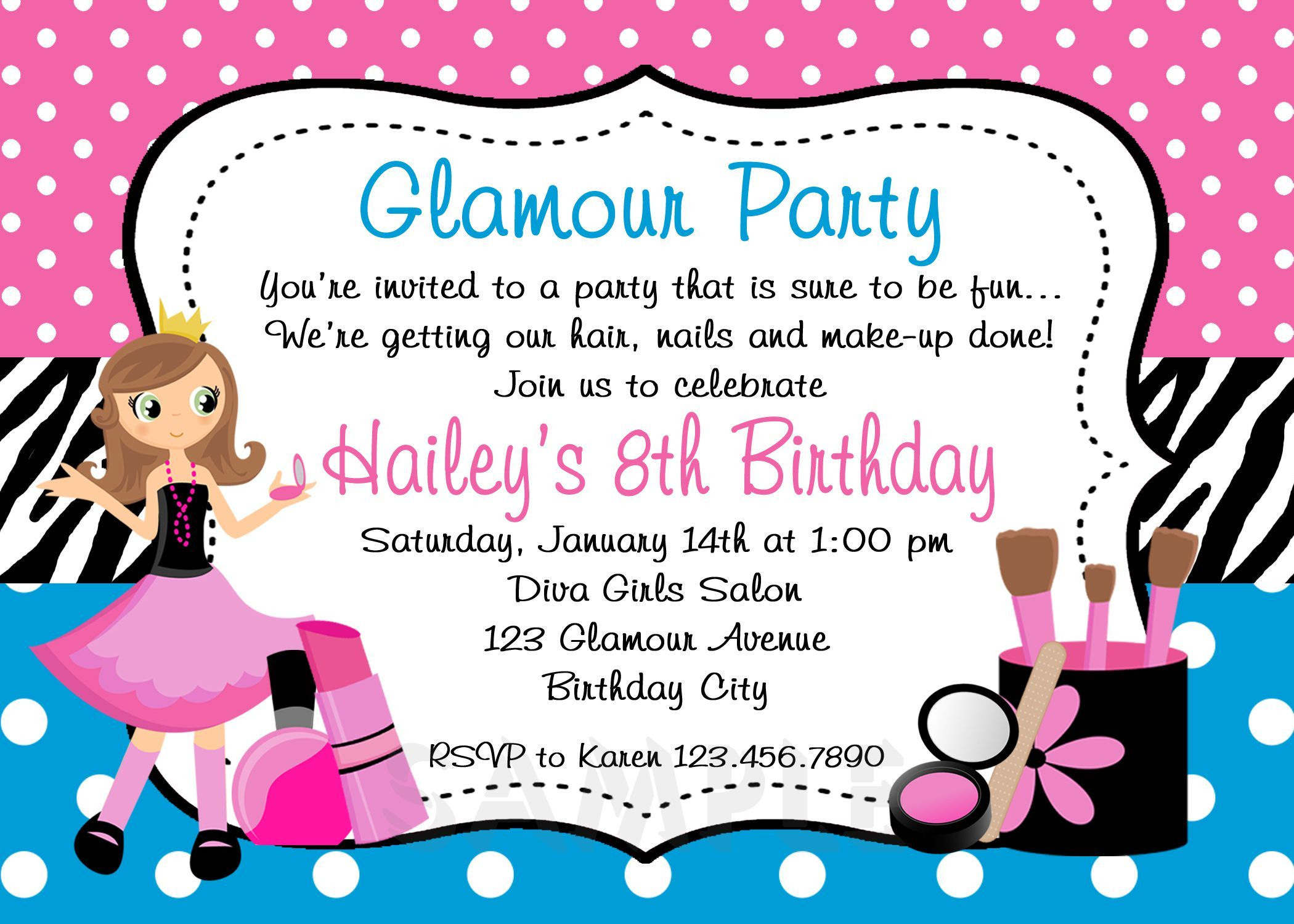 birthdayinvitationstoddlerboy – Toddler Girl Birthday Invitations