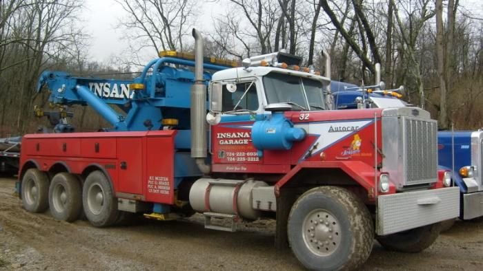 Autocar Insana Model Truck Kits Trucks Tow Truck