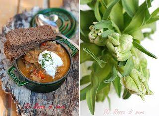 Denny Chef Blog: Schi: zuppa di crauti con funghi secchi