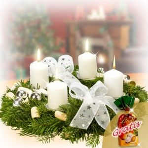 Send Christmas Flowers Germany with lovely best wishes message and ...