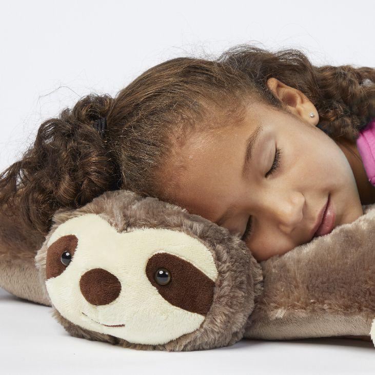 Original sunny sloth animal pillows cute stuffed