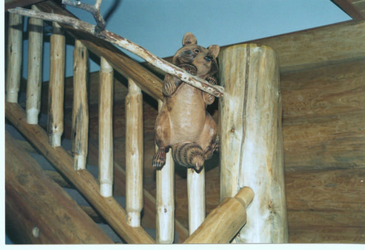 Best Specialty Log And Timber Accents With Images Timber Stair 400 x 300