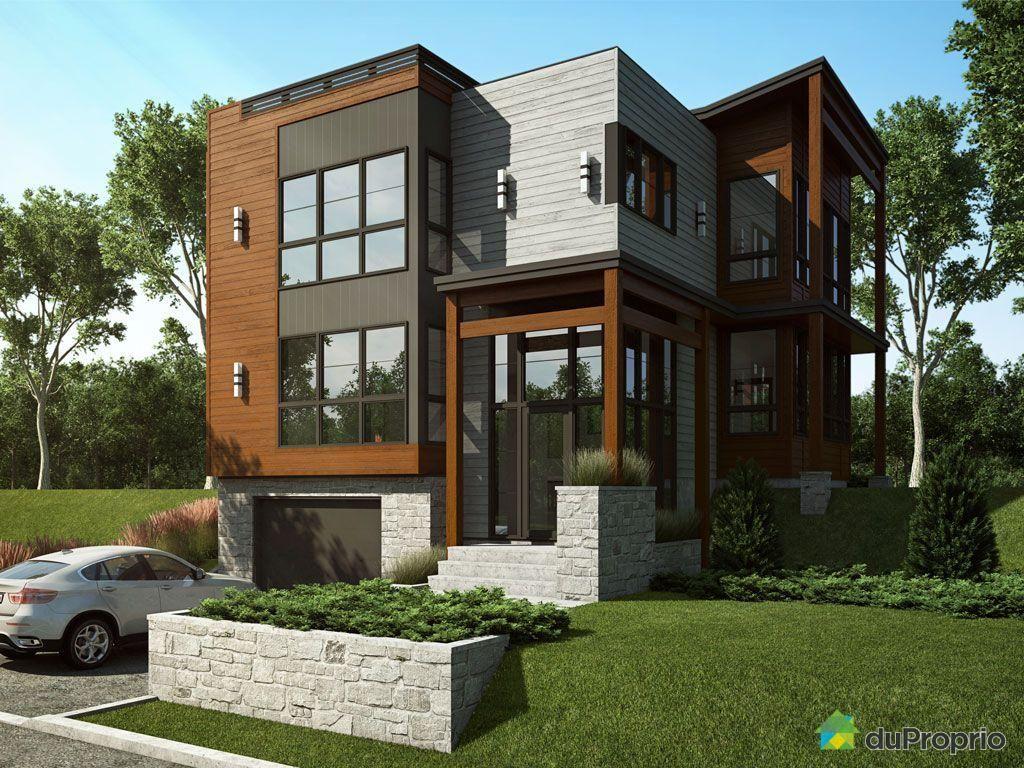 Jetez Un Coup D Oeil à Cette Superbe Propriété à Vendre à St Nicolas House Styles House Front Modern Contemporary Homes