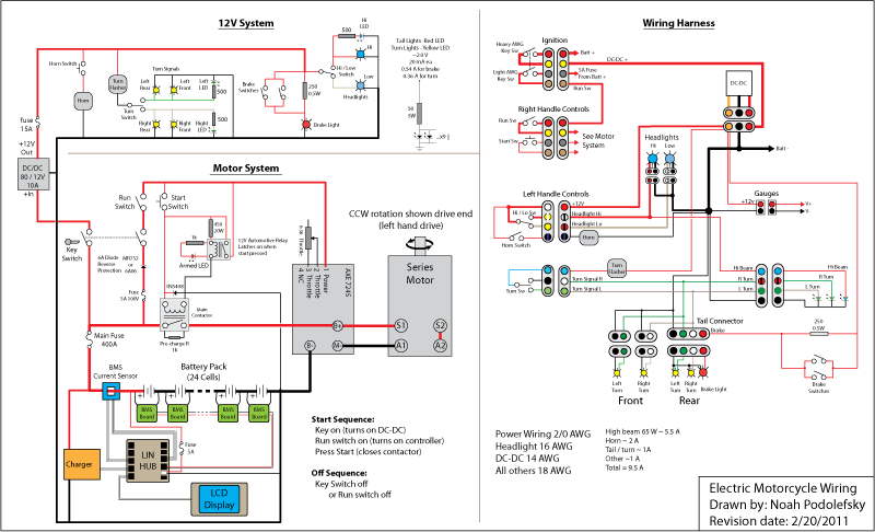 Bicycle Wiring Harness | Wiring Diagram on