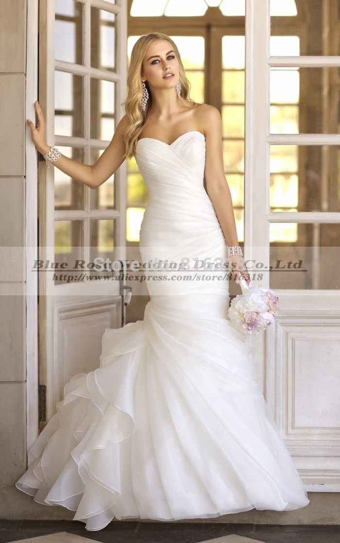Vestido De Noiva Princesa 2014 Cheap Wedding Dress China Sexy Beach