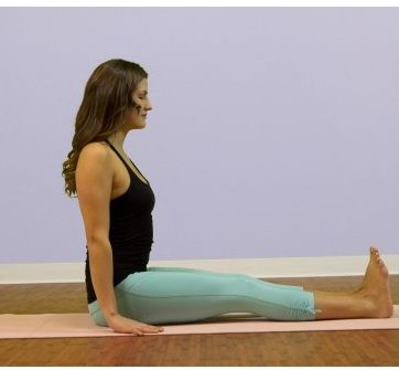 Dandasana {Staff Pose}-Steps And Benefits (With images ...