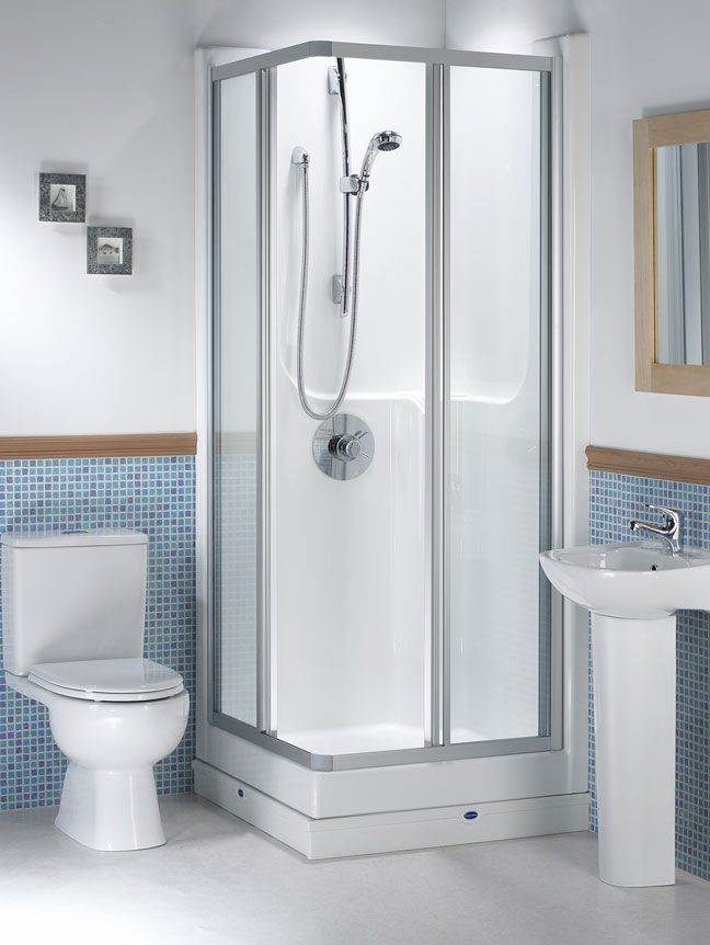 Seamless 800 Corner Shower Pod | Bathroom Inspiration | Pinterest ...