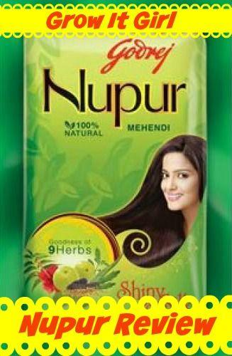 Godrej Nupur Mehndi Henna For Nupur Henna Review Hair Care Hair