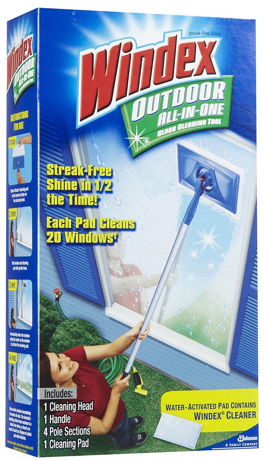 Clean Outdoor Windows Window Cleaner Garage Organization