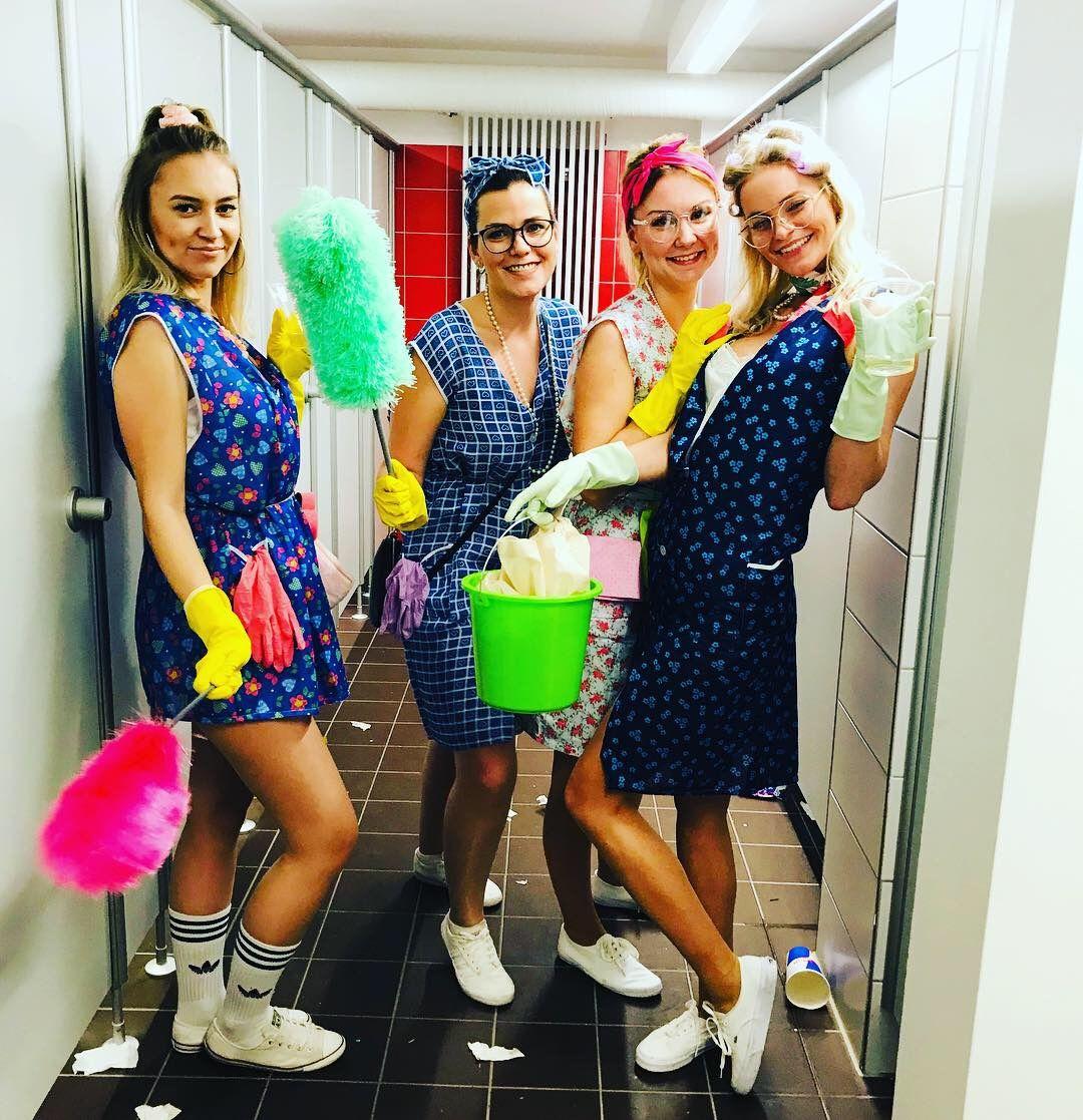 Hausfrauen zum Fasching