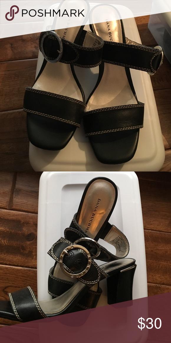 c7007f85ff61cd 🎉FINAL MARKDOWN 🎉Dana Buchman Sandals Dana Buchman Black Sandals