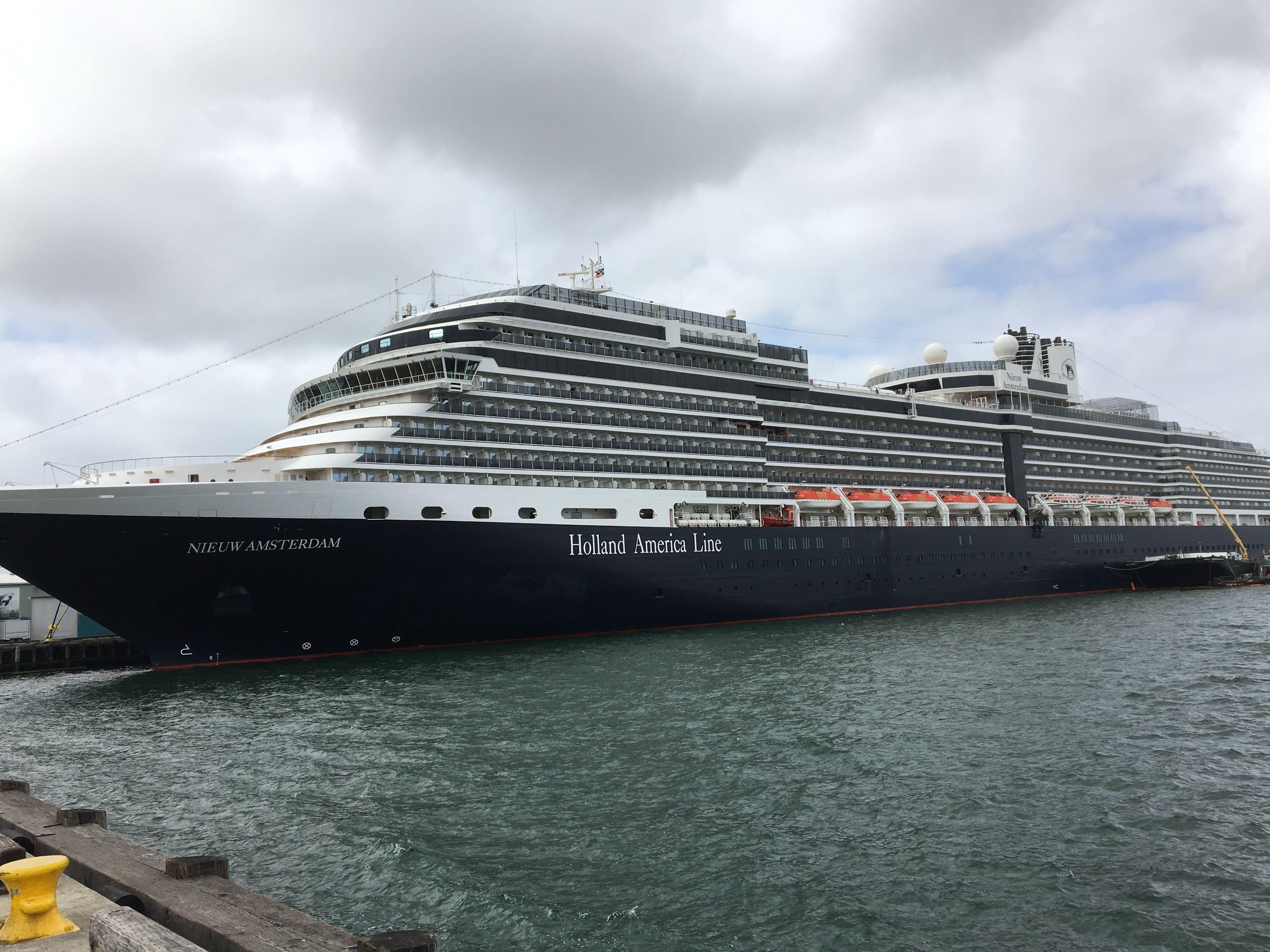 Holland America Ms Nieuw Amsterdam Wwwextramiletravelcom - Amsterdam cruise ship