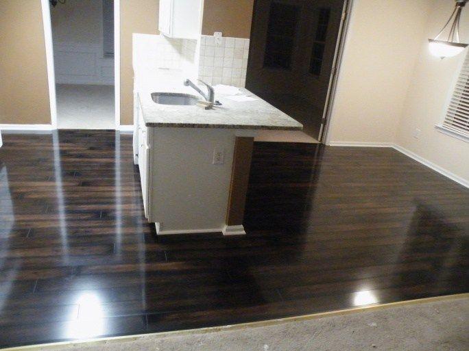 Dark Laminate Kitchen Flooring Kitchens Feel Home