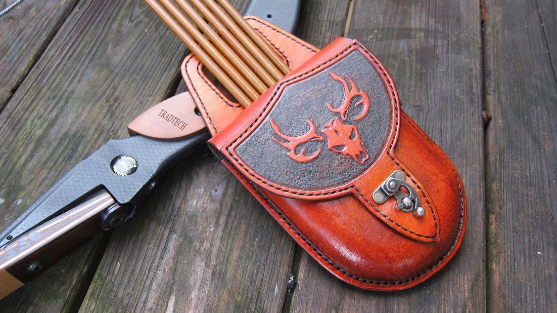 For sale custom pocket quiver new diy leather bracelet