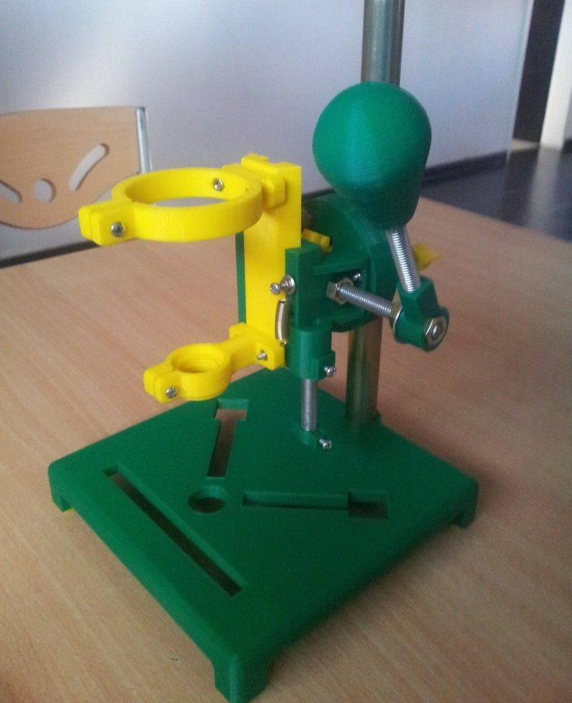 Rotary Tool Workstation by mabraidot Thingiverse 3d