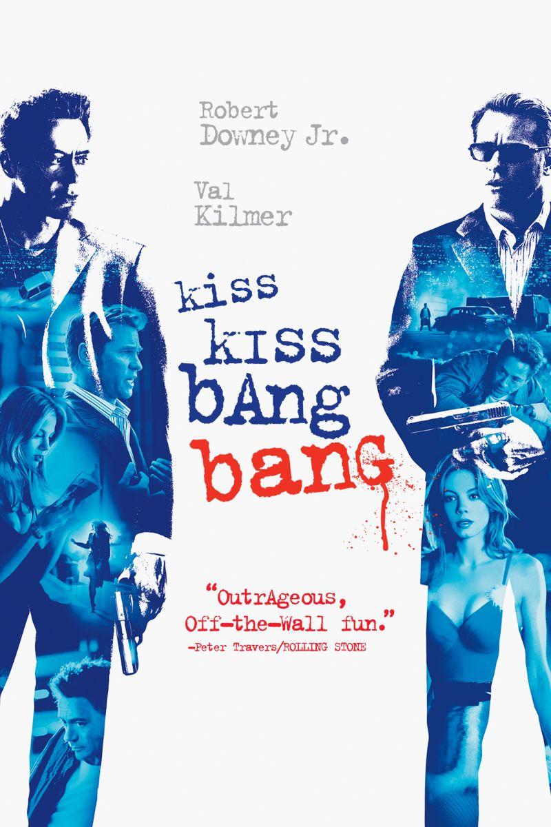 Kiss Kiss Bang Bang (2005) | Movie Posters in 2018 | Movies, Kiss ...