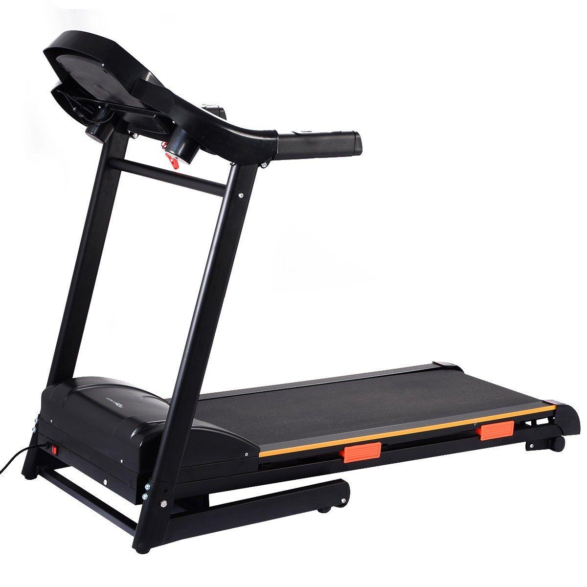 Black Jaguar 1000 W Folding Electric Treadmill Running Machine