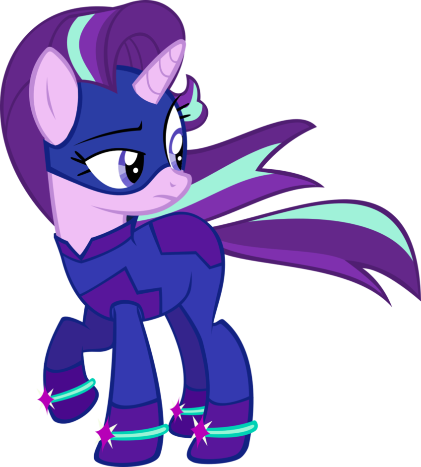 Starlight Glimmer Power Pony By Slowlydazzle Deviantart Com On Deviantart Starlight