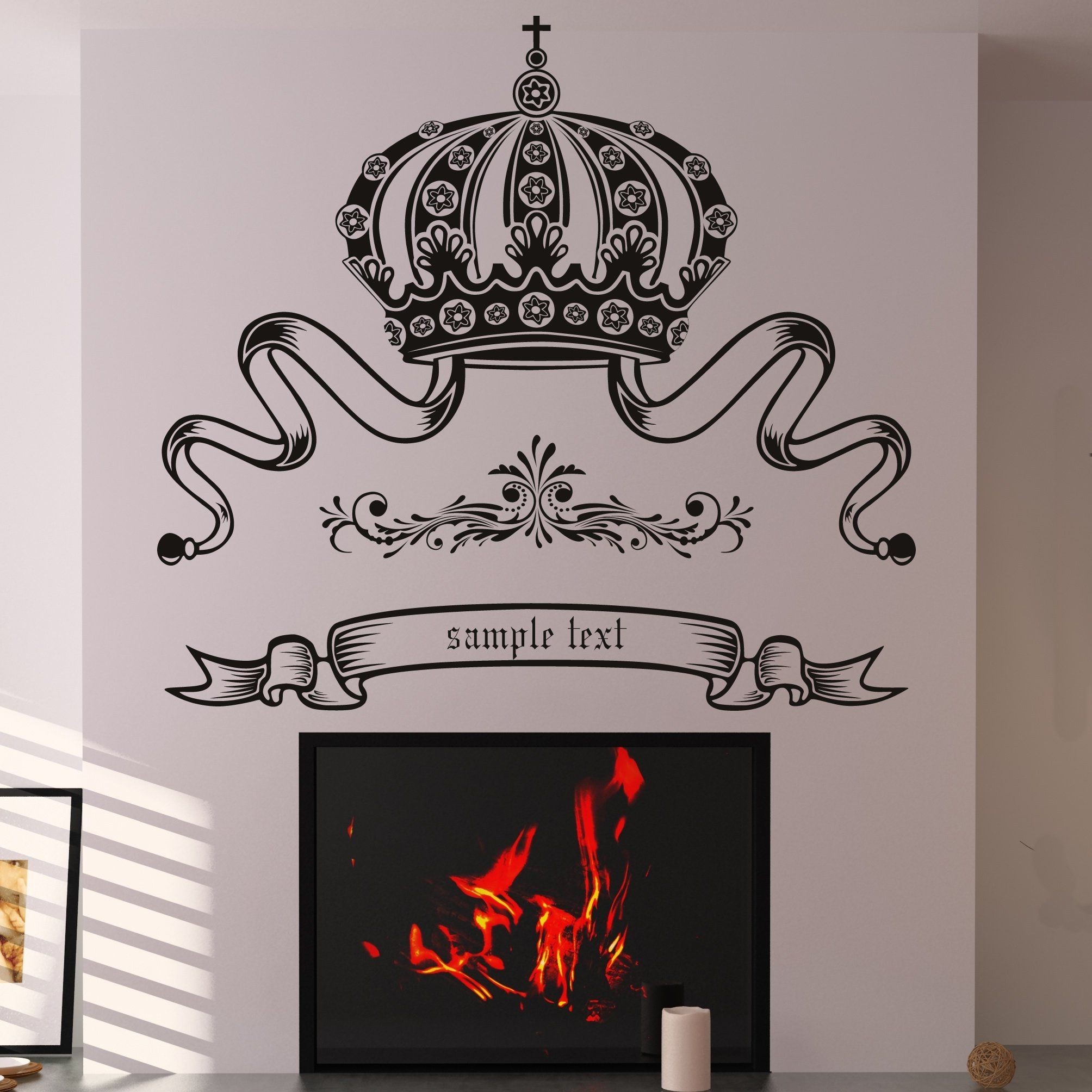 Customised Wall Stickers Singapore Monogram Decals Custom Guitar
