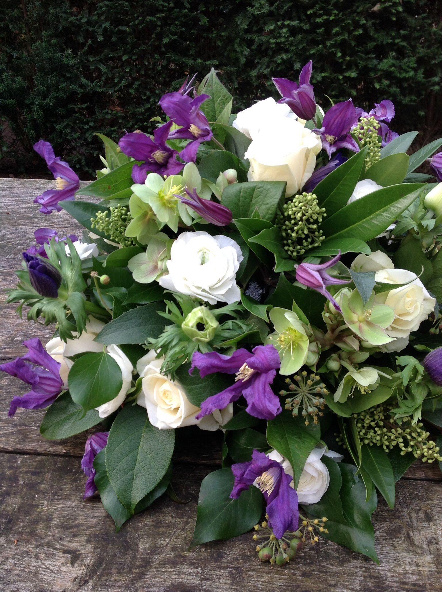 Afscheidsbloemen BLoemwerk Op Maat, rouwbloemen, rouwboeketten,  Wageningen