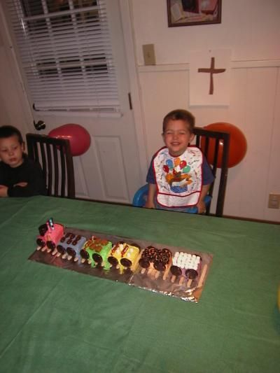 Luke's 2nd birthday - 4 months before his mother Andrea commit one of the most horrific crimes imaginable - drowning all five of the children on June 20, 2001.