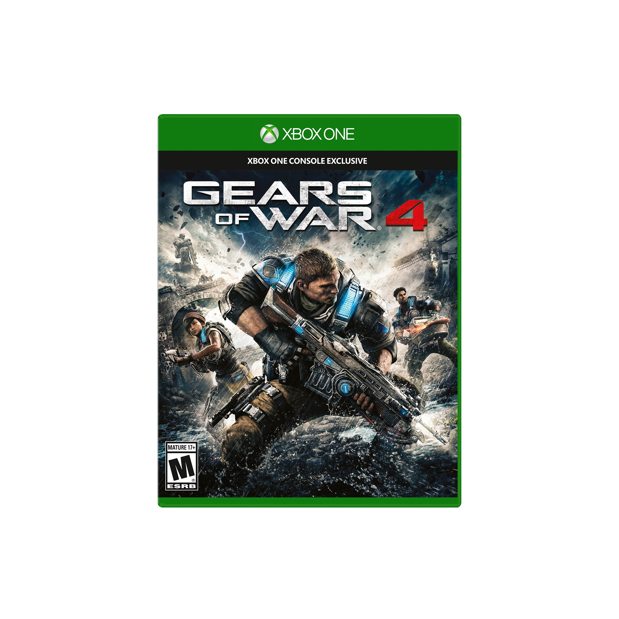 Gears of War 4 Xbox One Gears of war, Xbox one, Xbox one
