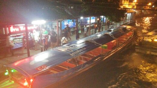 Klong ,bangkok ,tailandia