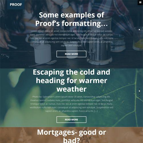 Proof is different looking vertical slider widgets Genesis theme ...