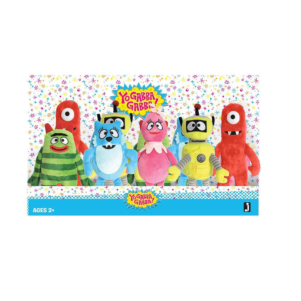 Yo Gabba Gabba Plush Assortment Jazwares Inc Toys R Us Toys R Us Toys Plush [ 1000 x 1000 Pixel ]