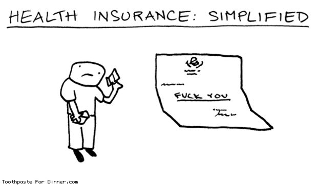 Every Health Insurance Bill Will Basically Say Health Quotes Motivation Health Insurance Humor Health Insurance