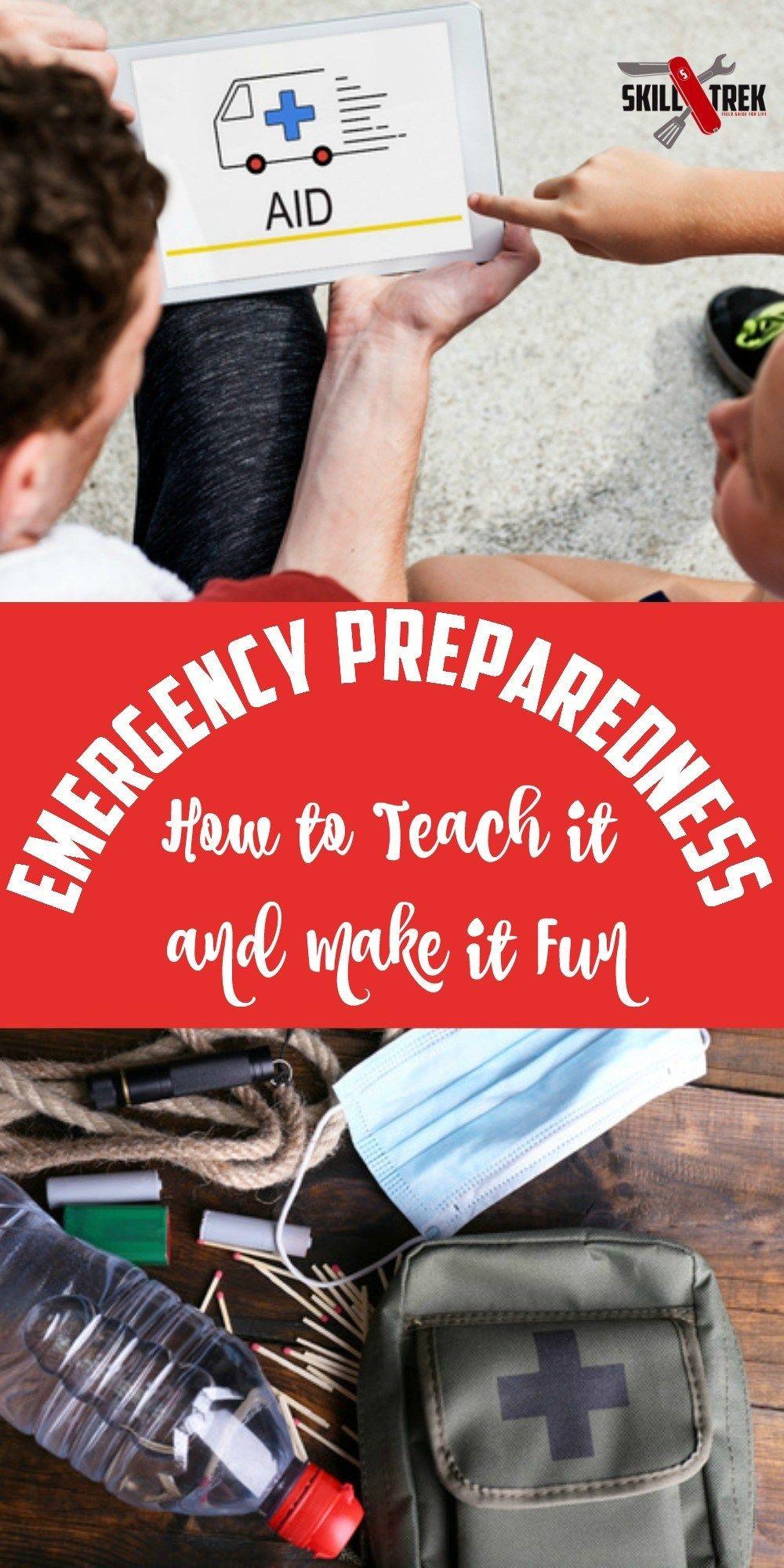 Emergency Preparedness For Kids Teens Skill Trek Emergency Preparedness Teaching Life Skills Preparedness [ 2000 x 1000 Pixel ]