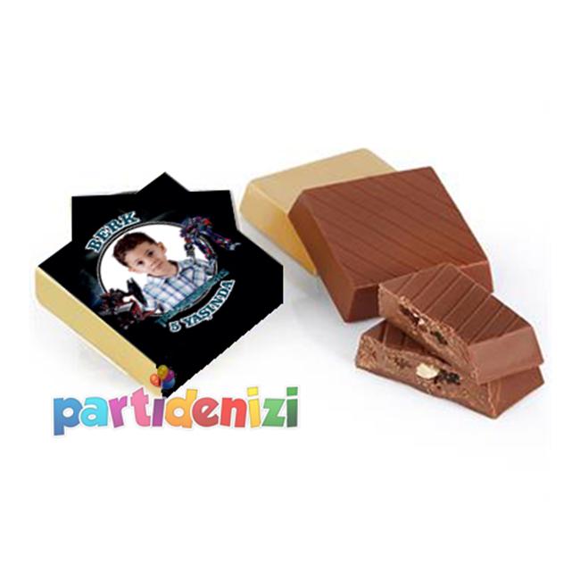Transformers Temalı Kişiye Özel Çikolata 10-lu