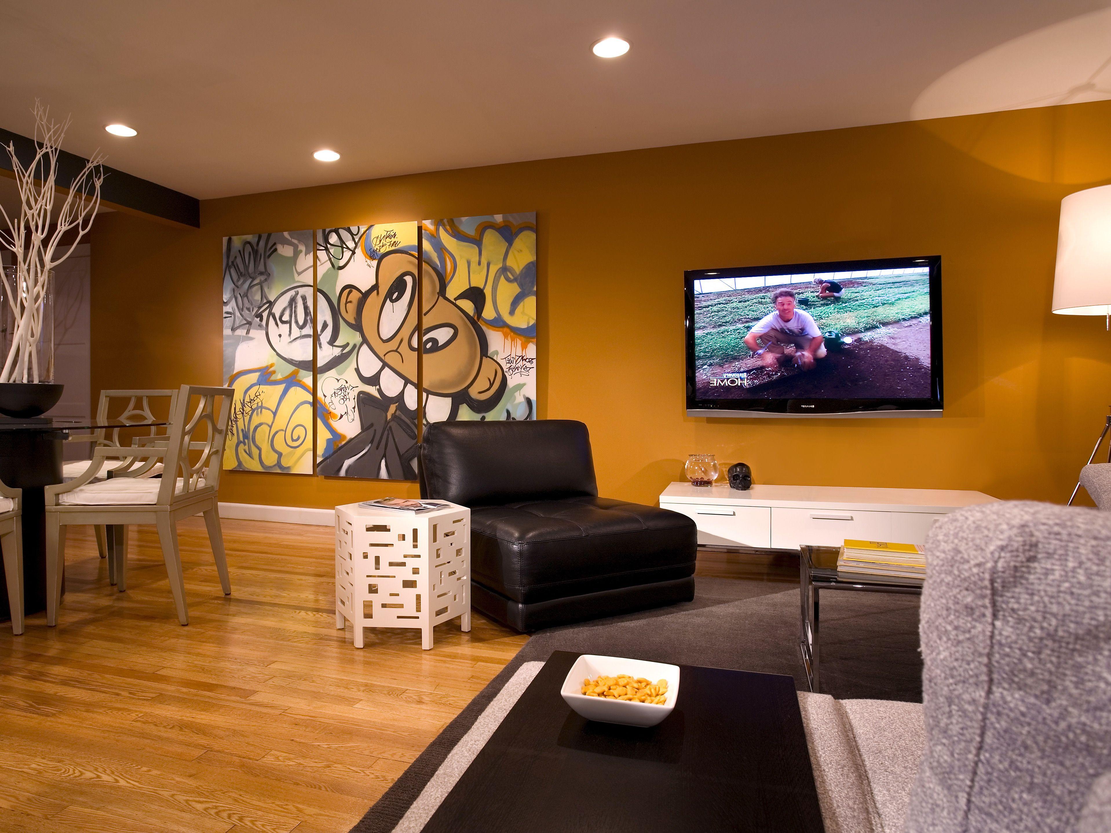 30 Wunderschöne Ideen Für Die Wohnzimmer Wand Dekor #Wohnzimmer
