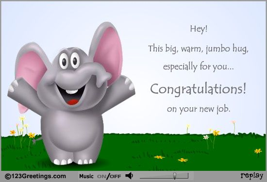 New Job Wishes Job Wishes Congrats On New Job