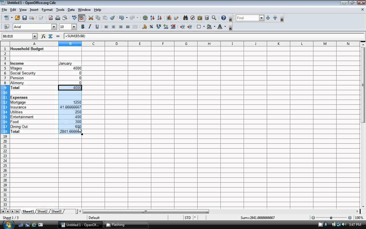 How To Create A Budget Template On Excel