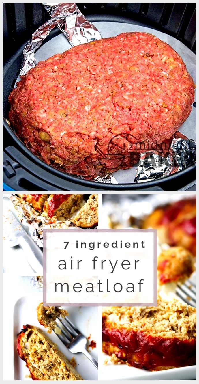 Air Fryer Meatloaf, Air Fryer Meatloaf, 2020