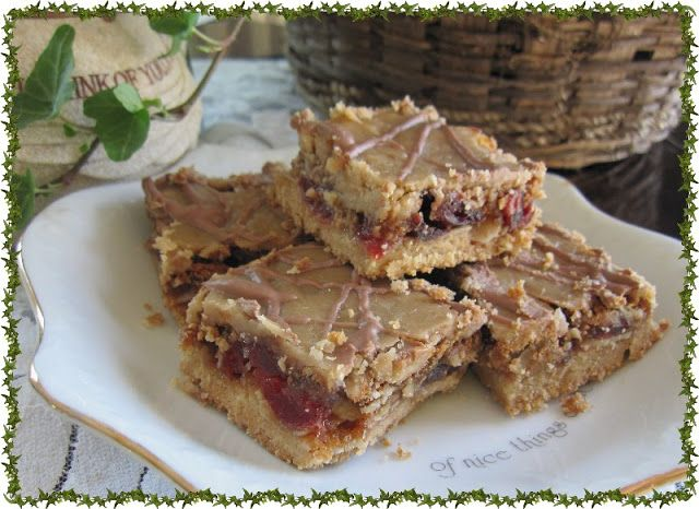 Mennonite Girls Can Cook: Cherry Berry Squares - Gluten Free