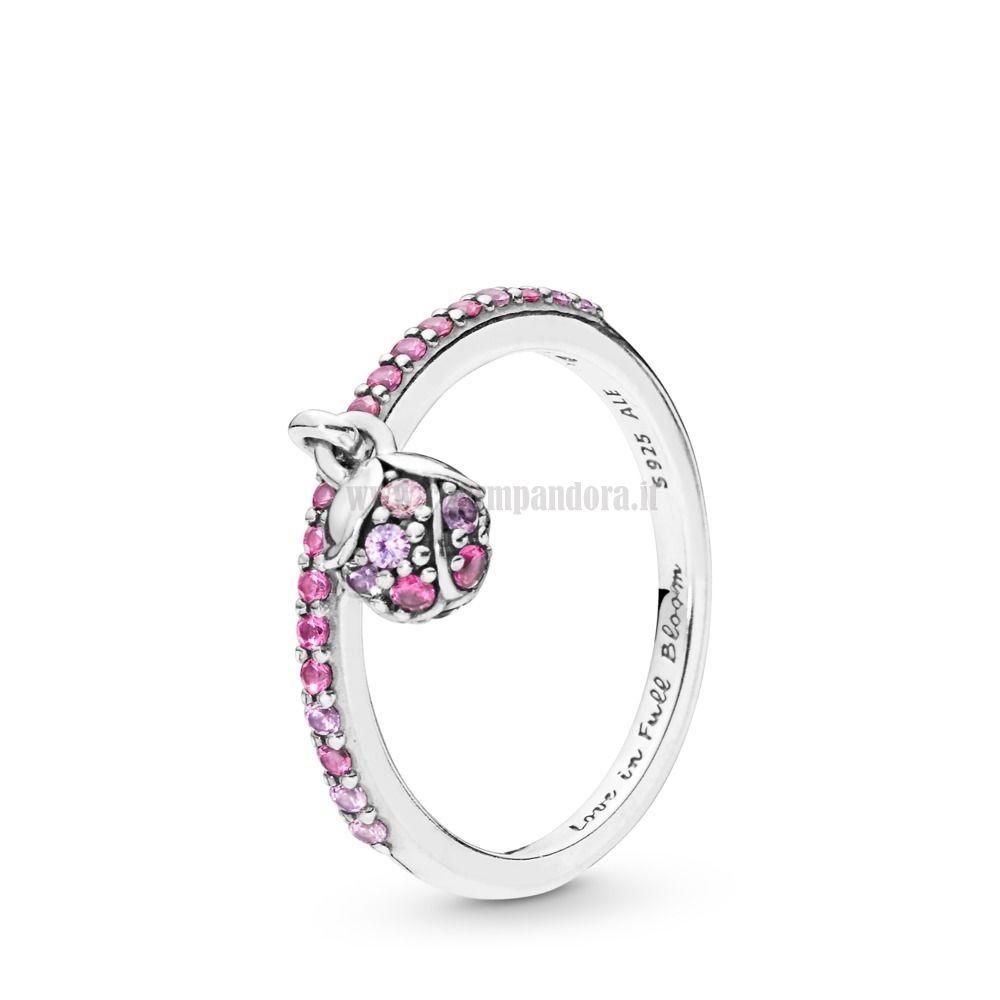anello pandora con quadrifoglio prezzo