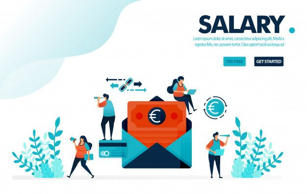 Safe payroll envelope payment waiting for monthly salary with classic payment by envelope Premium Vector  Free Vector