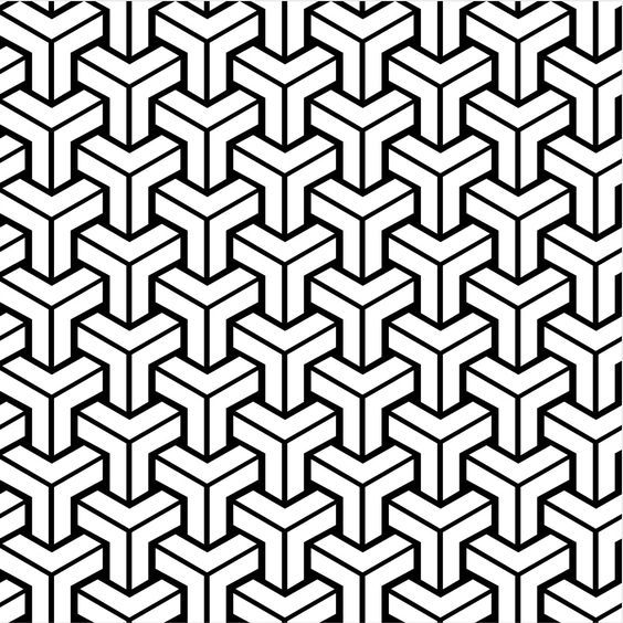 Name or author of tiling geometric pattern?