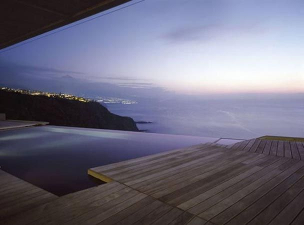 Infinity pools are most definitely the one