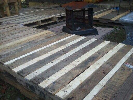 Pallet Deck Pallet Patio Pallet Decking Deck Furniture