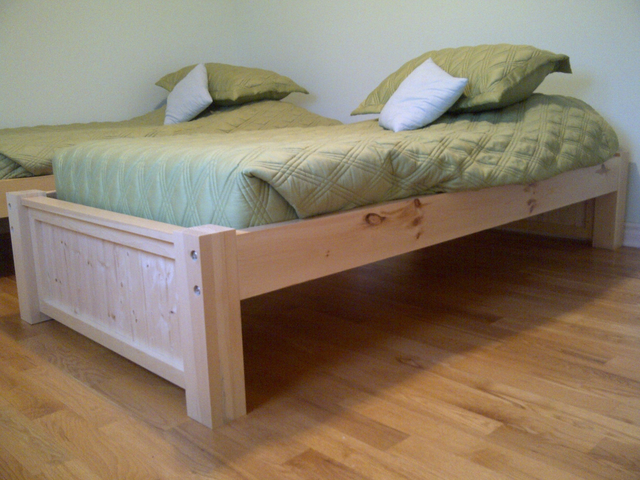 Michael Collection Twin platform bed Do It Yourself