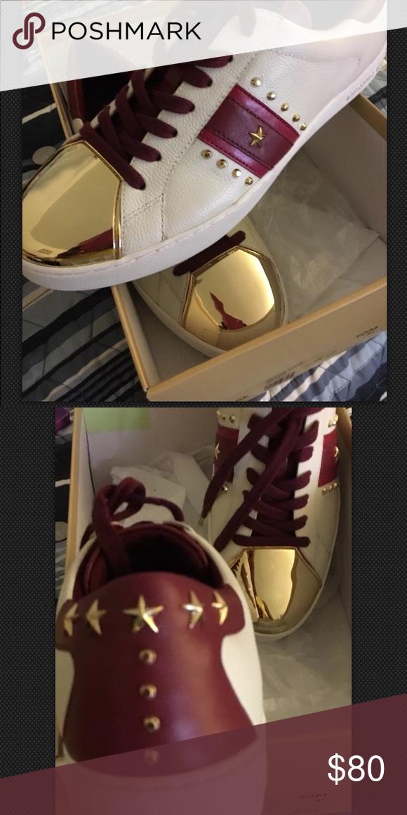 Michael Kors Frankie Stripe Sneakers
