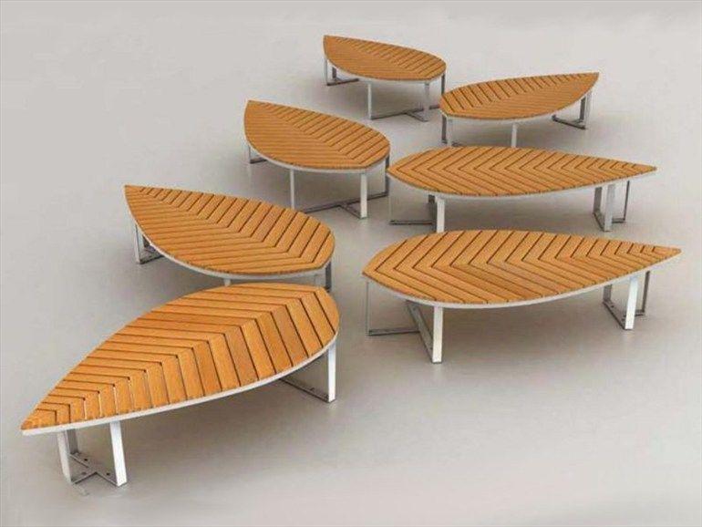Wooden Bench Leaf By Deesawat Industries 製品