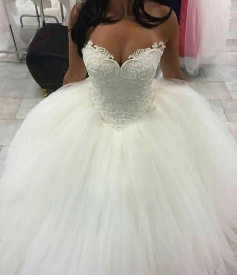 Glitter Ball Gown Wedding Dresses Sleeveless Sweetheart Neck Lace Princess Bridal Gowns Ball Gowns Wedding Wedding Dresses Lace Ballgown Princess Bridal Gown [ 960 x 825 Pixel ]