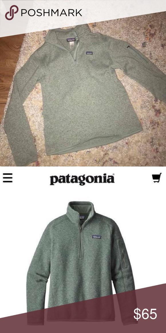 Patagonia Womens Better Sweater 14 Zip Fleece My Posh Picks