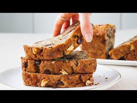 How To Make Perfect Chocolate Chip Banana Bread Every Time Delish Insanely Easy Youtube Best Banana Bread Banana Bread Recipes Banana Chocolate Chip