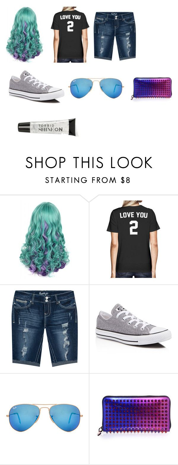 """Summer looks"" by ryan-perry on Polyvore featuring interior, interiors, interior design, home, home decor, interior decorating, Amethyst Jeans, Converse, Ray-Ban and Christian Louboutin"